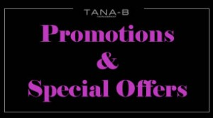 promotions andspecial offers